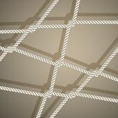 Elegante sfondo con corda. — Vettoriale Stock