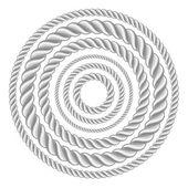 Circle ropes — Stock Vector