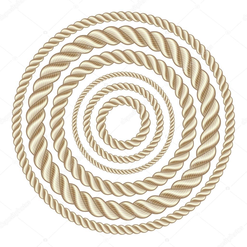 Круг канаты - Векторное изображение tassel #35771435