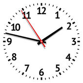 Clock vector — Stock Vector