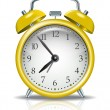 Vector alarm clock — Stock Vector