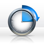 Timer clock — Stock Vector