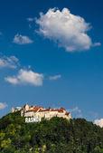 Rasnov middeleeuwse vesting, transsylvanië, roemenië — Stockfoto