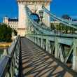 Chain Bridge, Budapest — Stock Photo