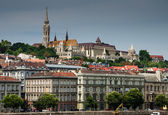 Buda and Matthias Church. Old city of Budapest, Hungary. — Stock Photo