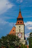 Torre da igreja negra, brasov — Fotografia Stock