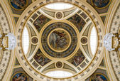 The dome of Szechenyi Baths, Budapest — Stock Photo