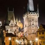 Towers of Mala Strana, on Charles Bridge, Prague — Stock Photo #15406105