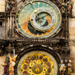 Medieval Astronomical Clock in Prague — Stock Photo #15406117