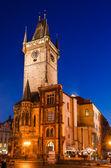 Stare mesto oude stadhuis, praag — Stockfoto