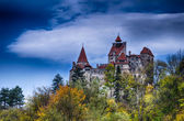 Bran Castle, HDR autumn image — Stock Photo