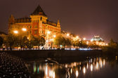 Prague view in the night, Czech Republic — Stockfoto