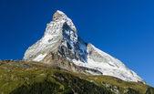 Matterhorn mountain, landmark of Swiss — Stock Photo