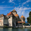 Royalty-Free Stock Photo: Chateau de Chillon on Lake Geneva, Switzerland
