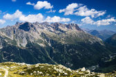 Le Brevent mountain in Chamonix, France — Stock Photo