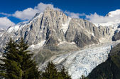 Aiguille du Midi, Mont Blanc in France — Stock Photo