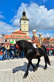 Brasov 777th aniversary, Juni Parade, Romania — Stock Photo