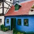 Golden Lane little house, Prague — Stock Photo
