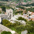 Aerial view of Sintra city, Portugal - Stock Photo
