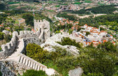 Aerial view of Sintra city, Portugal — Stock Photo