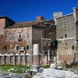 Augustus forum in Rome — Stock Photo