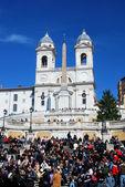 Spanish Steps in Rome, Piazza di Spagna — Stock Photo