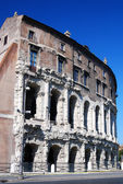 Marcelus Theatre, ancient construction in Rome — Stock Photo