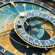 Medieval Astronomical Clock in Prague — Stock Photo #19689893