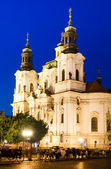 Church of St Nicholas in Stare Mesto, Prague — Stock Photo