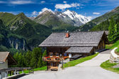 Tirol Alps landscape in Austria with Grossglockner mountain — Stock Photo