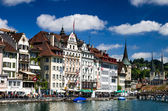 Luzern, Lucerne, Switzerland — Stock Photo