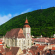 Black Church and Tampa mountain, Brasov, Romania — Stock Photo #22191091