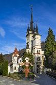 St. Nicholas Church in Schei, Brasov, Romania — Stock Photo