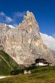 чимоне в доломитовы горы, северная италия — Стоковое фото