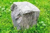 Piedra sepulcral romana antigua en verona — Foto de Stock