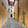 Street in Prague — Stock Photo