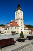 Brasov historical center, Romania — Stock Photo