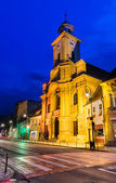 St. Peter and Paul church in Brasov old city, Romania — Stock Photo