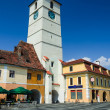 Council Tower in Sibiu, Romania — Stock Photo