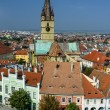 Sibiu downtown in Transylvania, Romania — Stock Photo
