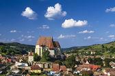 Biertan village in Transylvania, Romania — Stock Photo