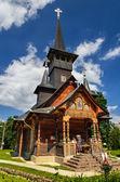 东正教教会在百乐菲利克斯、 罗马尼亚 — 图库照片