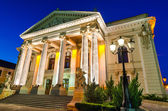 Theatre of Oradea twilight, Romania — Stock Photo