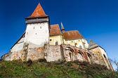 Biertan opevněný kostel v transylvánii, rumunsko — Stock fotografie