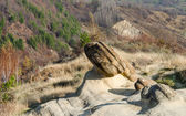 Ulmet Concretions named Trovants in Romania — ストック写真