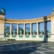 Heroes' Square in Budapest, Hungary — Stock Photo