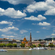 Danube River. Budapest. Hungary — Stock Photo