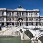 Palazzo di Giustizia, Rome, Italy — Stock Photo