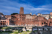 Trajan Market, Rome, Italy — Stock Photo