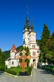 St. Nicholas medieval church in Brasov, Romania — Stock Photo